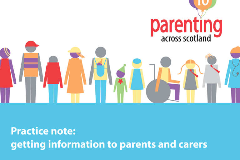 Getting information to parents and carers